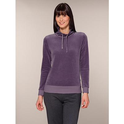 Organic Cotton Velour Pullover