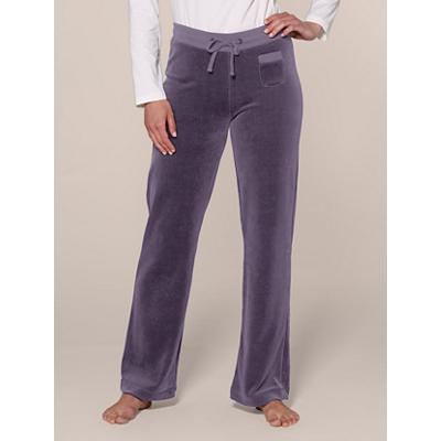 Organic Cotton Velour Pants