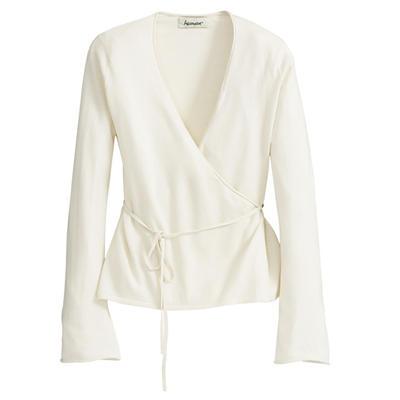 Silk/Cashmere Wrap Cardigan