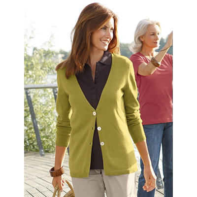 Organic Pima Cotton Cardigan