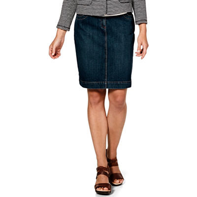 Organic Cotton Jean Skirt