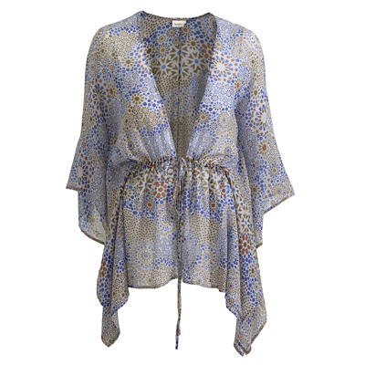 Pure Silk Georgette Tunic