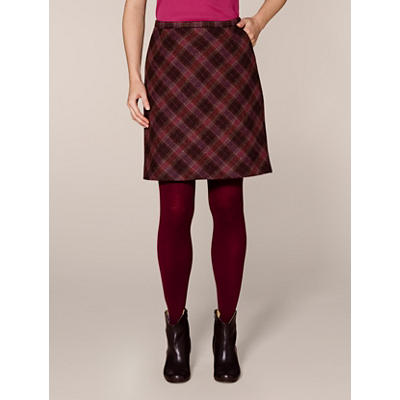 Virgin Wool Tweed Skirt