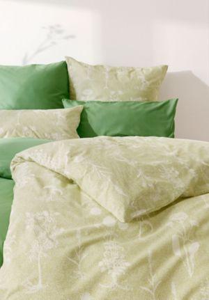 Perkal-Bettwäsche Herbaria aus reiner Bio-Baumwolle