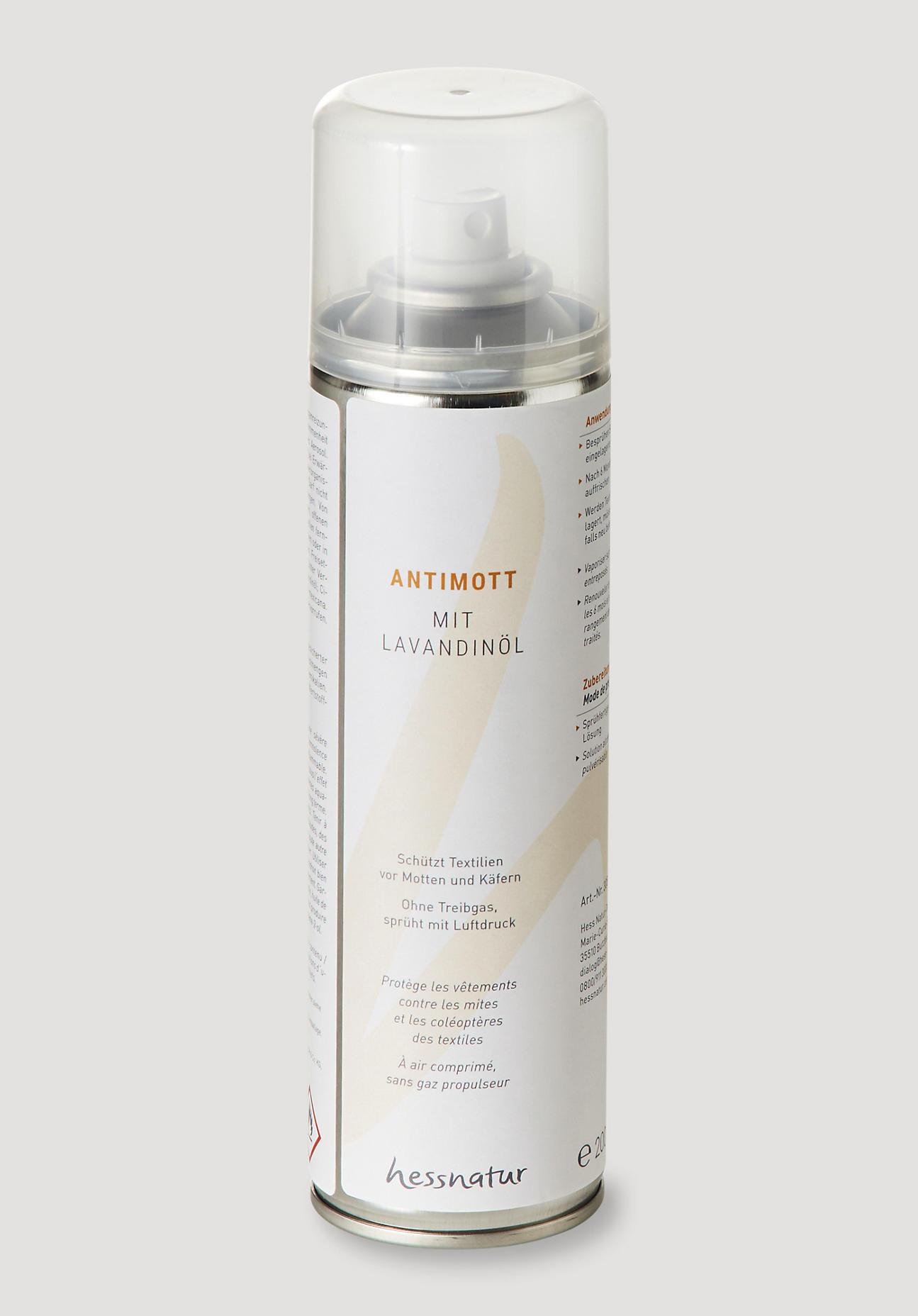 hessnatur Antimilbe Textil-Schutzspray – farblos – Größe 200ml