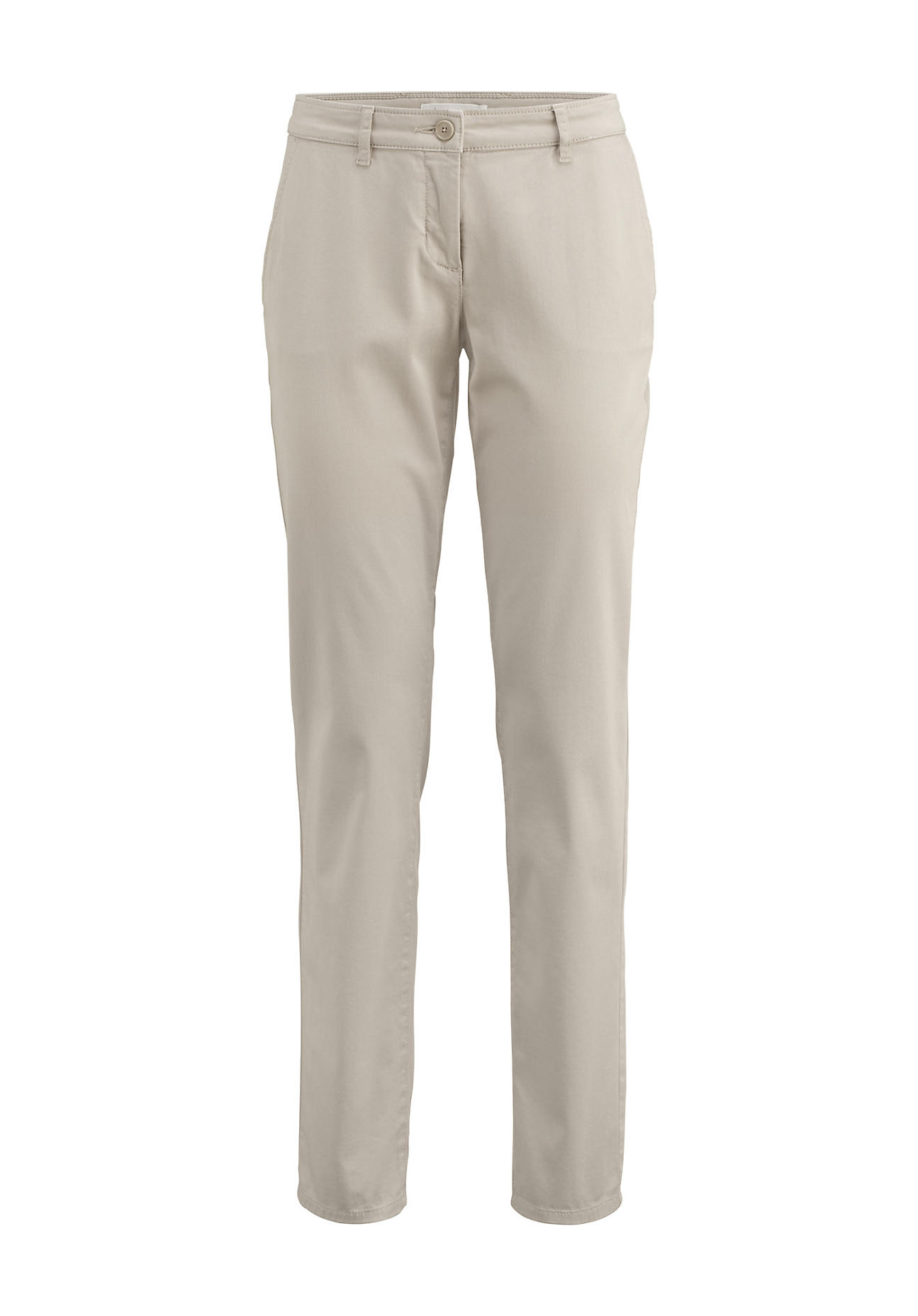 Hosen für Frauen - hessnatur Damen Chino aus Bio Baumwolle – beige –  - Onlineshop Hessnatur