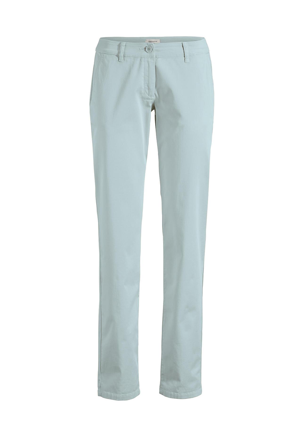 Hosen für Frauen - hessnatur Damen Chino aus Bio Baumwolle – grün –  - Onlineshop Hessnatur