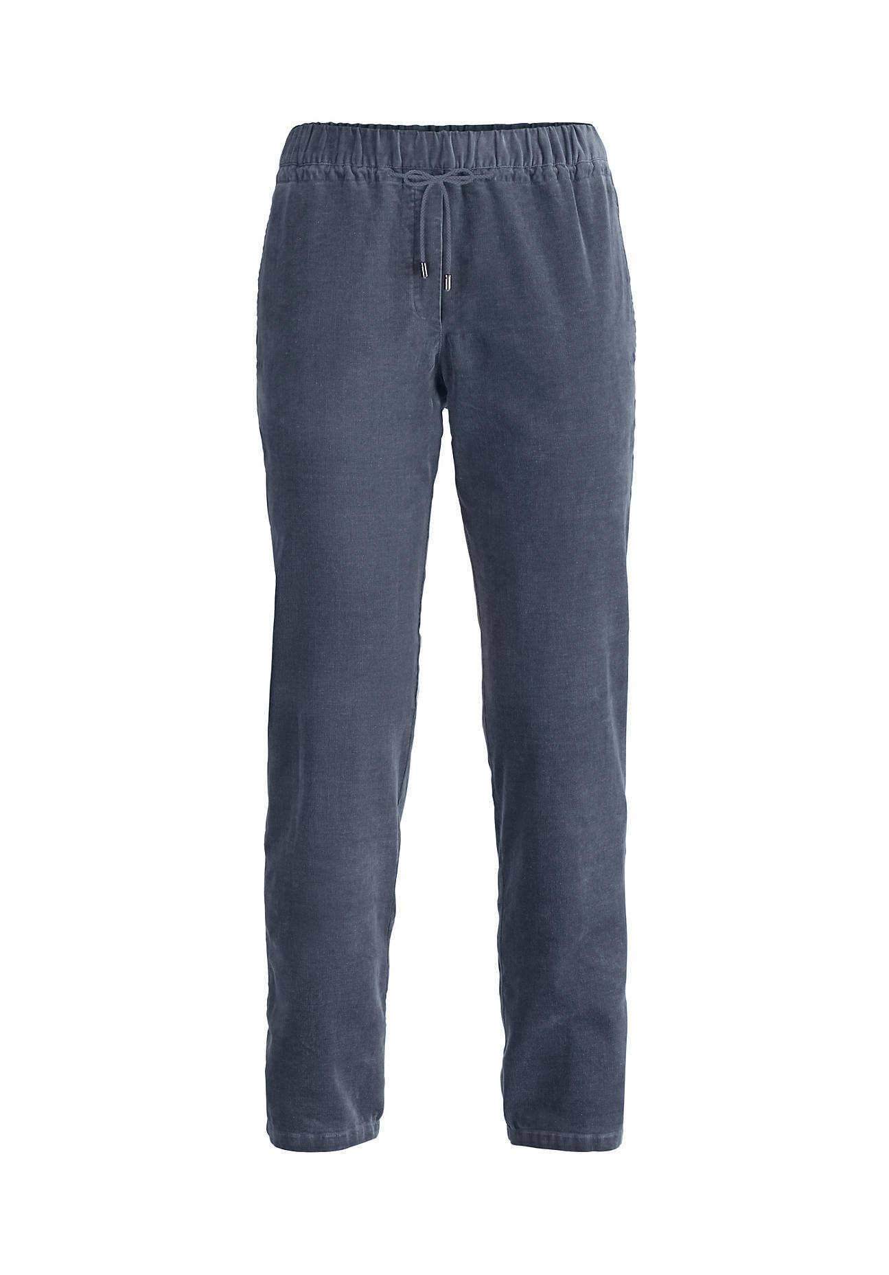 Hosen für Frauen - hessnatur Damen Cord Hose aus Bio Baumwolle mit Hanf – lila –  - Onlineshop Hessnatur