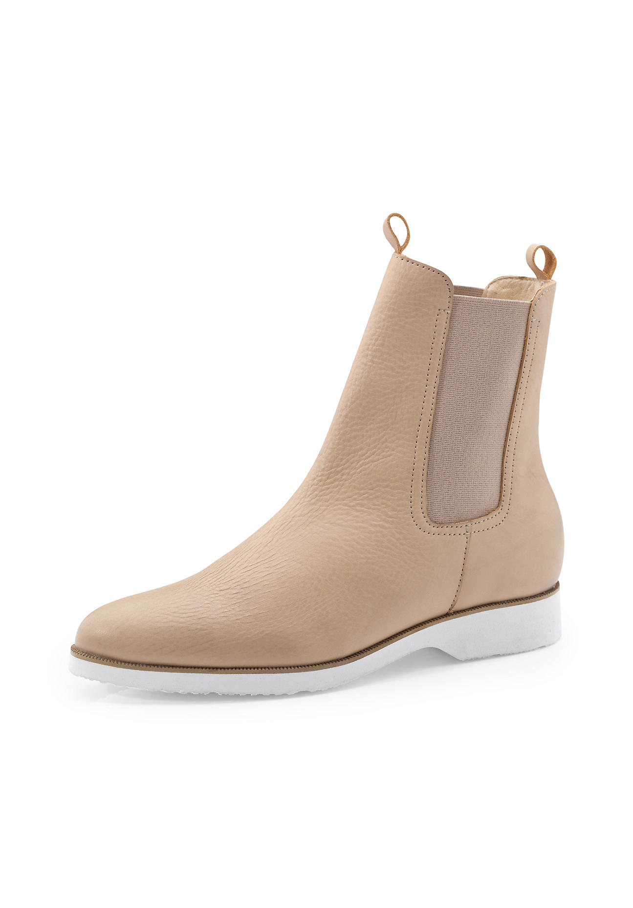 hessnatur Damen Damen Chelsea Boots – rosa – Größe 38