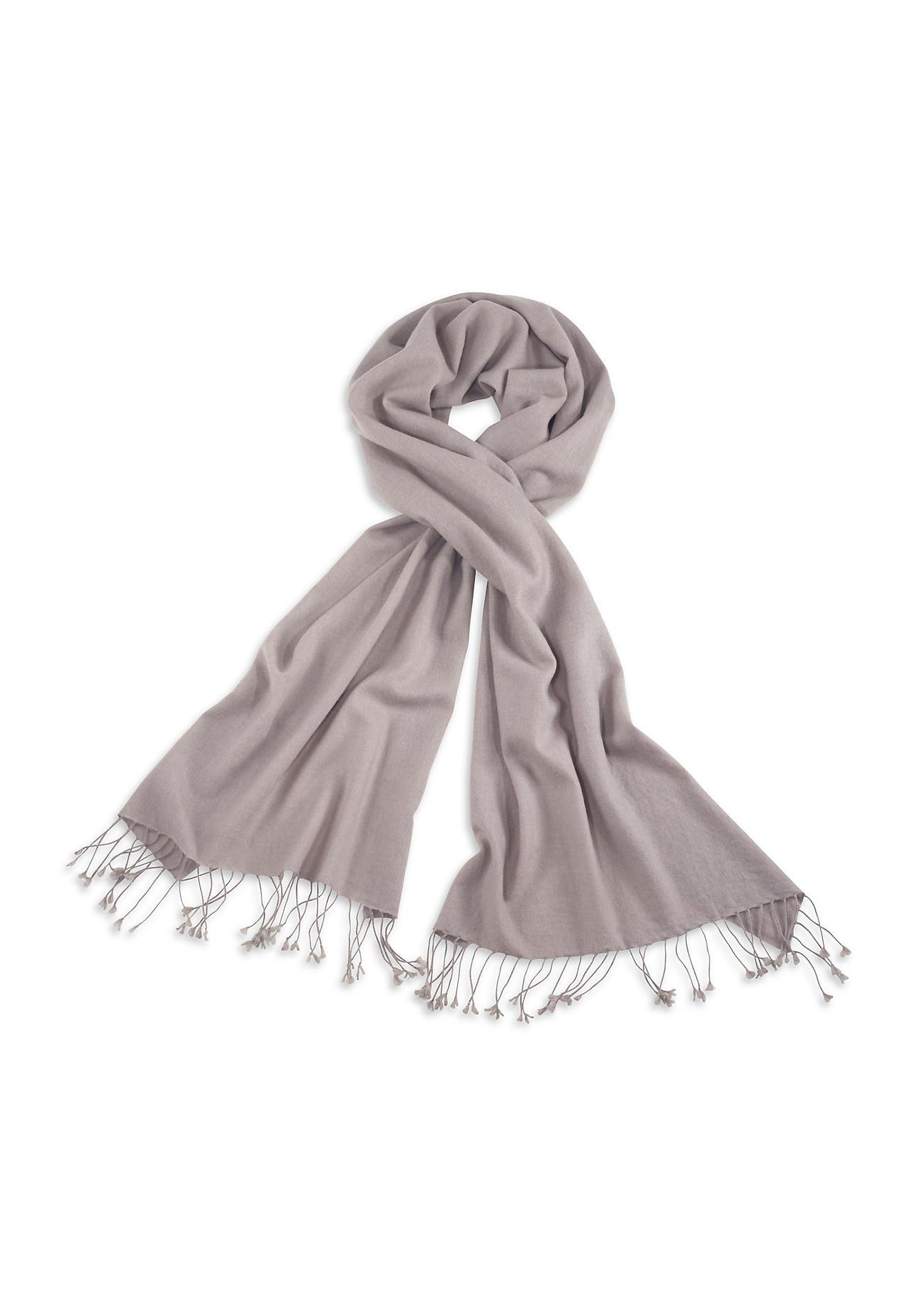Schals für Frauen - hessnatur Damen Damen Schal aus Kaschmir mit Schurwolle – beige –  - Onlineshop Hessnatur