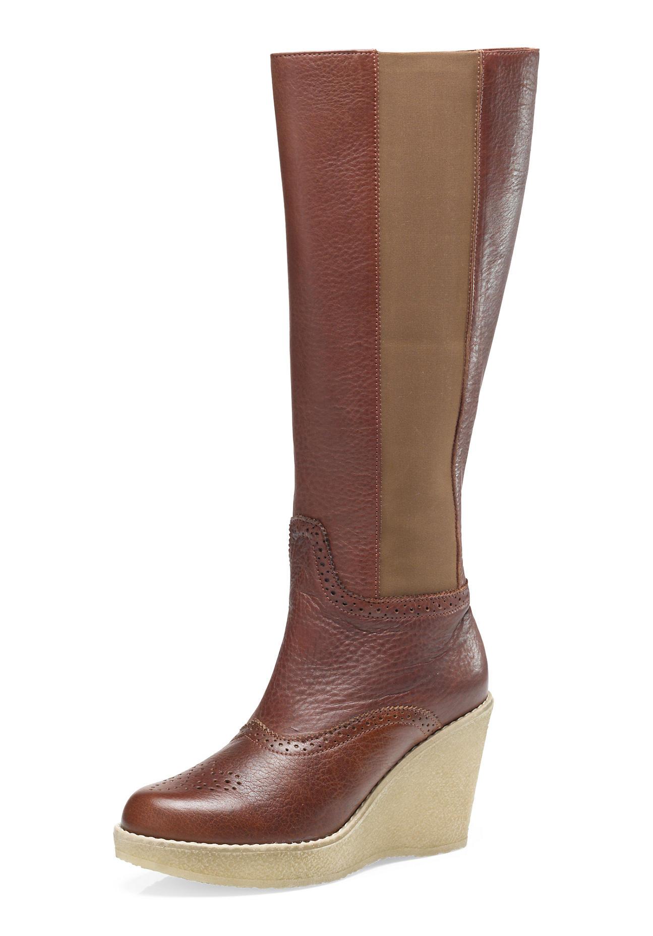 hessnatur Damen Stiefel aus Leder
