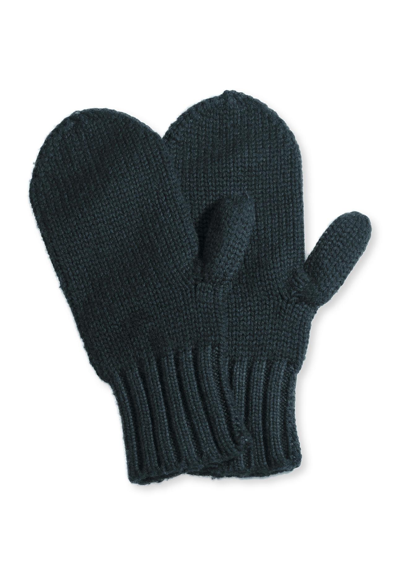 hessnatur Damen Fäustlinge aus Schurwolle – grün – Größe 1size | Accessoires > Handschuhe > Fäustlinge | Tannengrün | hessnatur