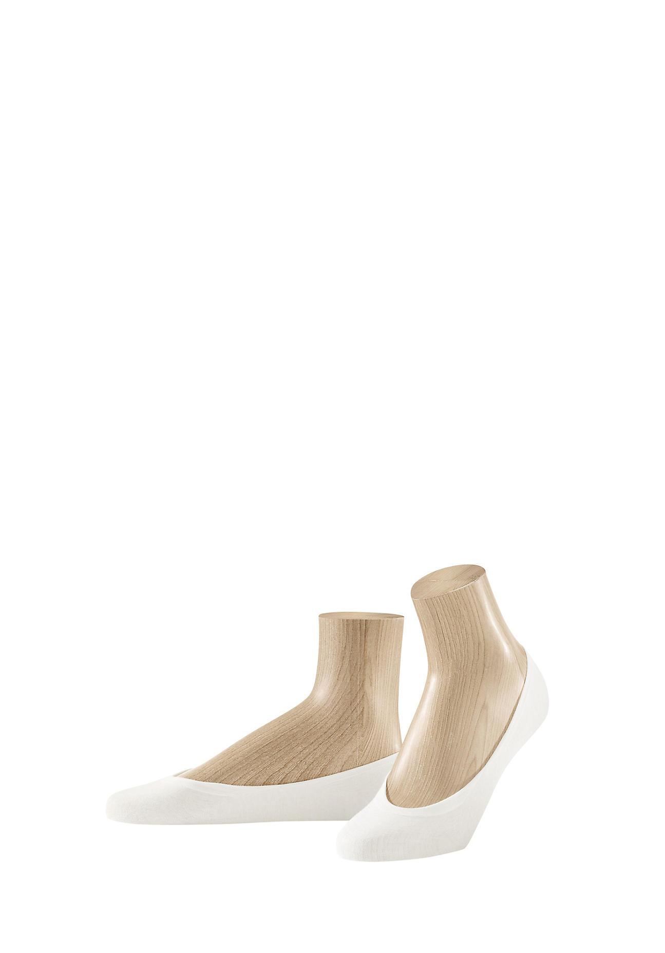 hessnatur Füßlinge im 3er Pack aus Bio Baumwolle – weiß – Größe 35 38