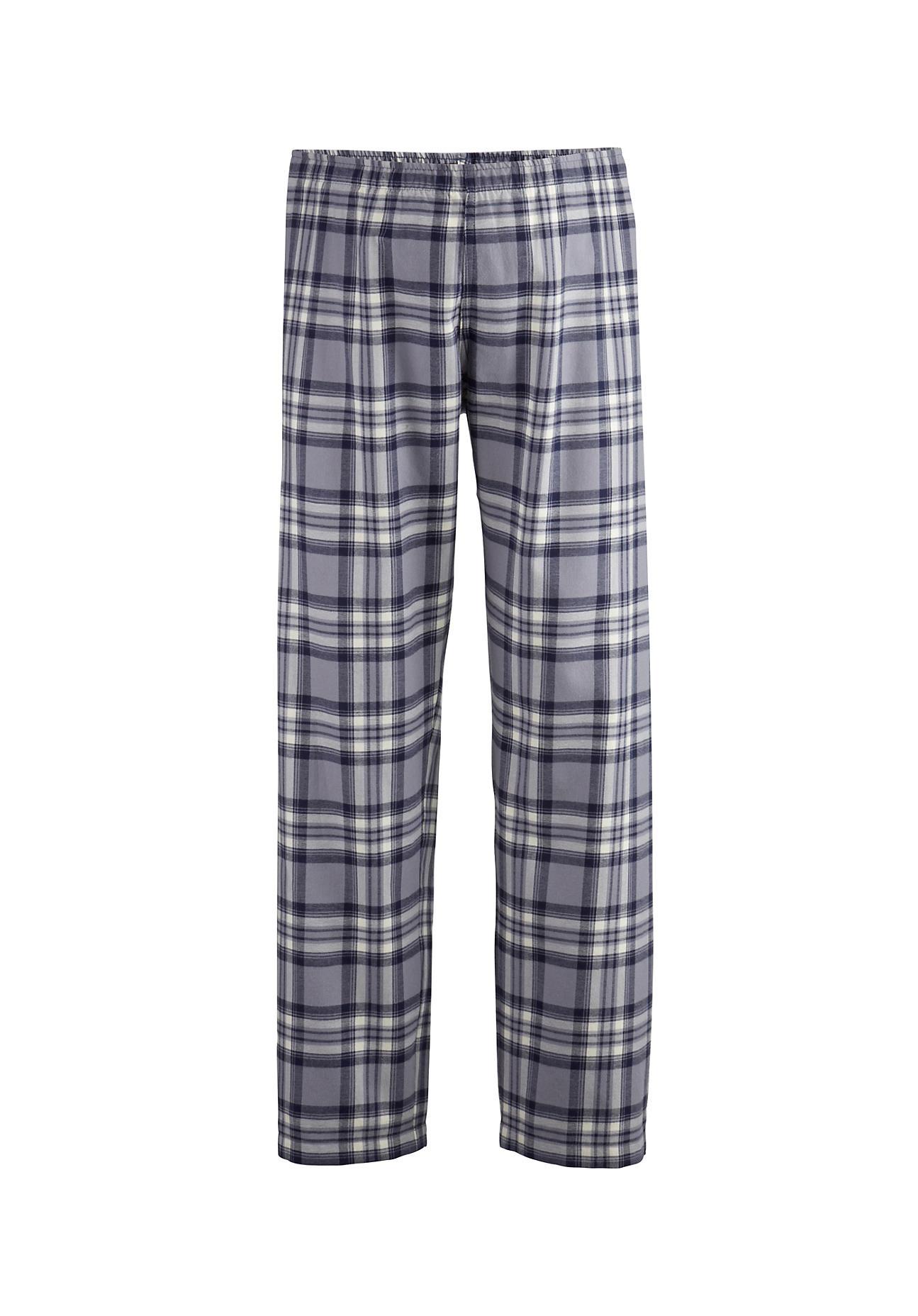 hessnatur Herren Flanell-Pyjamahose aus Bio-Baumwolle – bunt – Größe 52 | Bekleidung > Wäsche > Nachtwäsche | hessnatur