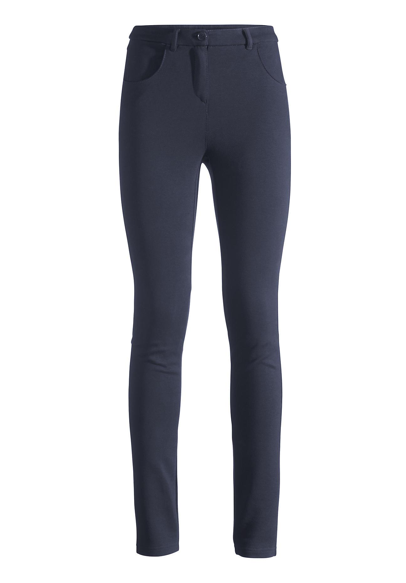 Hosen für Frauen - hessnatur Damen Hose aus Bio Baumwolle – blau –  - Onlineshop Hessnatur