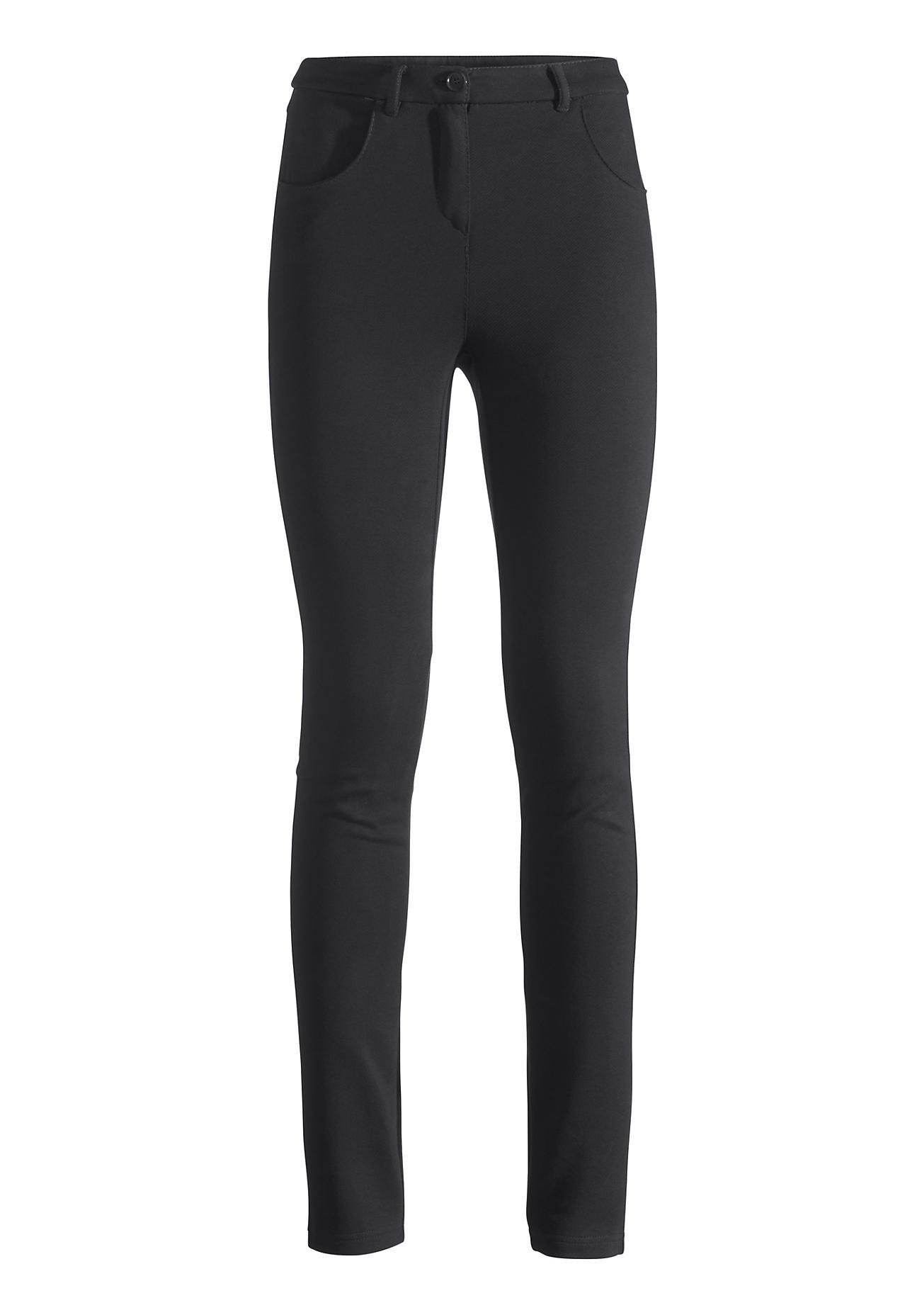 Hosen für Frauen - hessnatur Damen Hose aus Bio Baumwolle – schwarz –  - Onlineshop Hessnatur