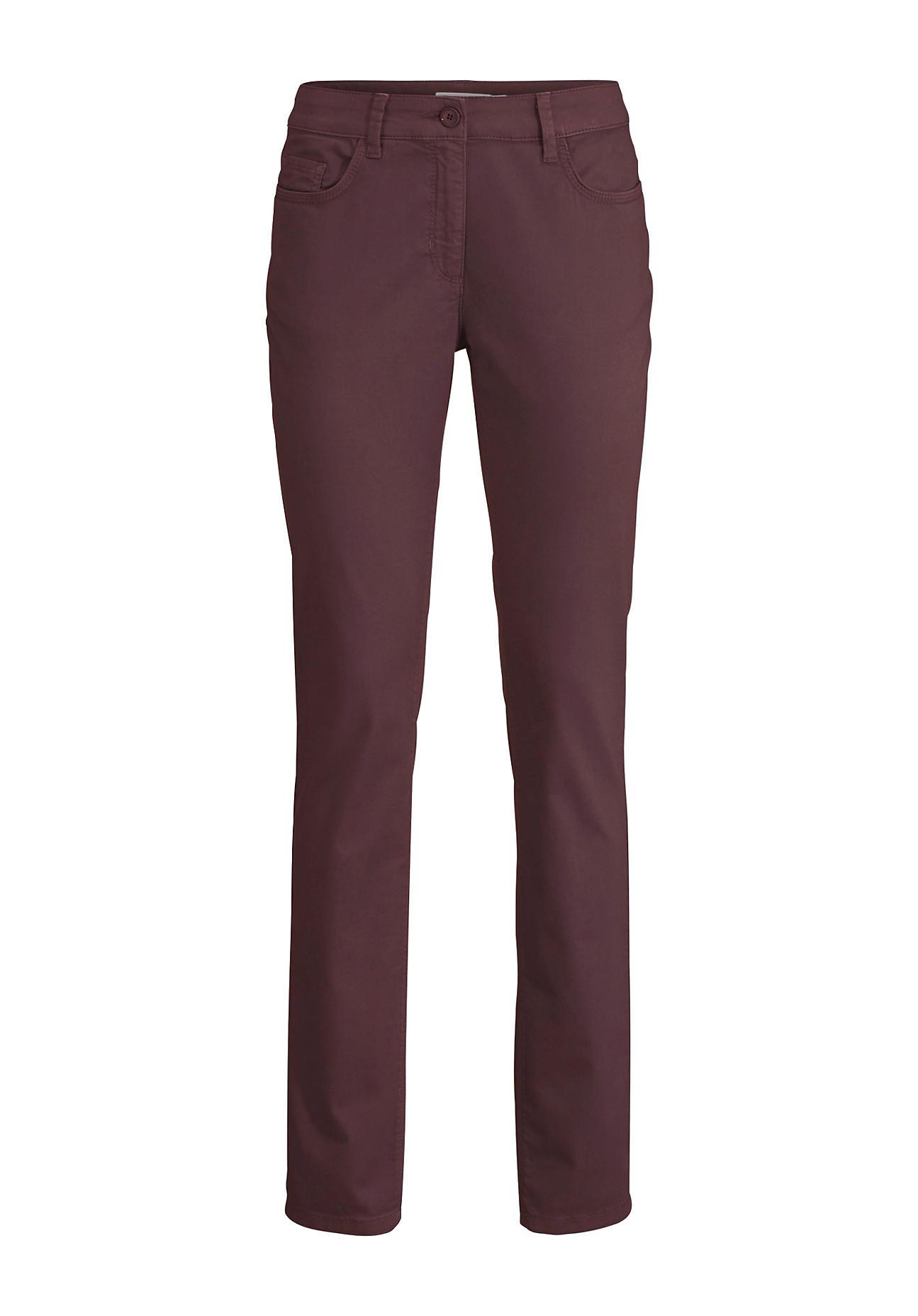 Hosen für Frauen - hessnatur Damen Hose aus Bio Baumwolle – braun –  - Onlineshop Hessnatur