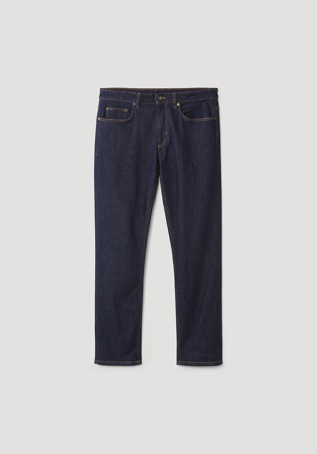 hessnatur Herren Jeans Ben Straight Fit aus Bio-Denim – blau – Größe 34/30