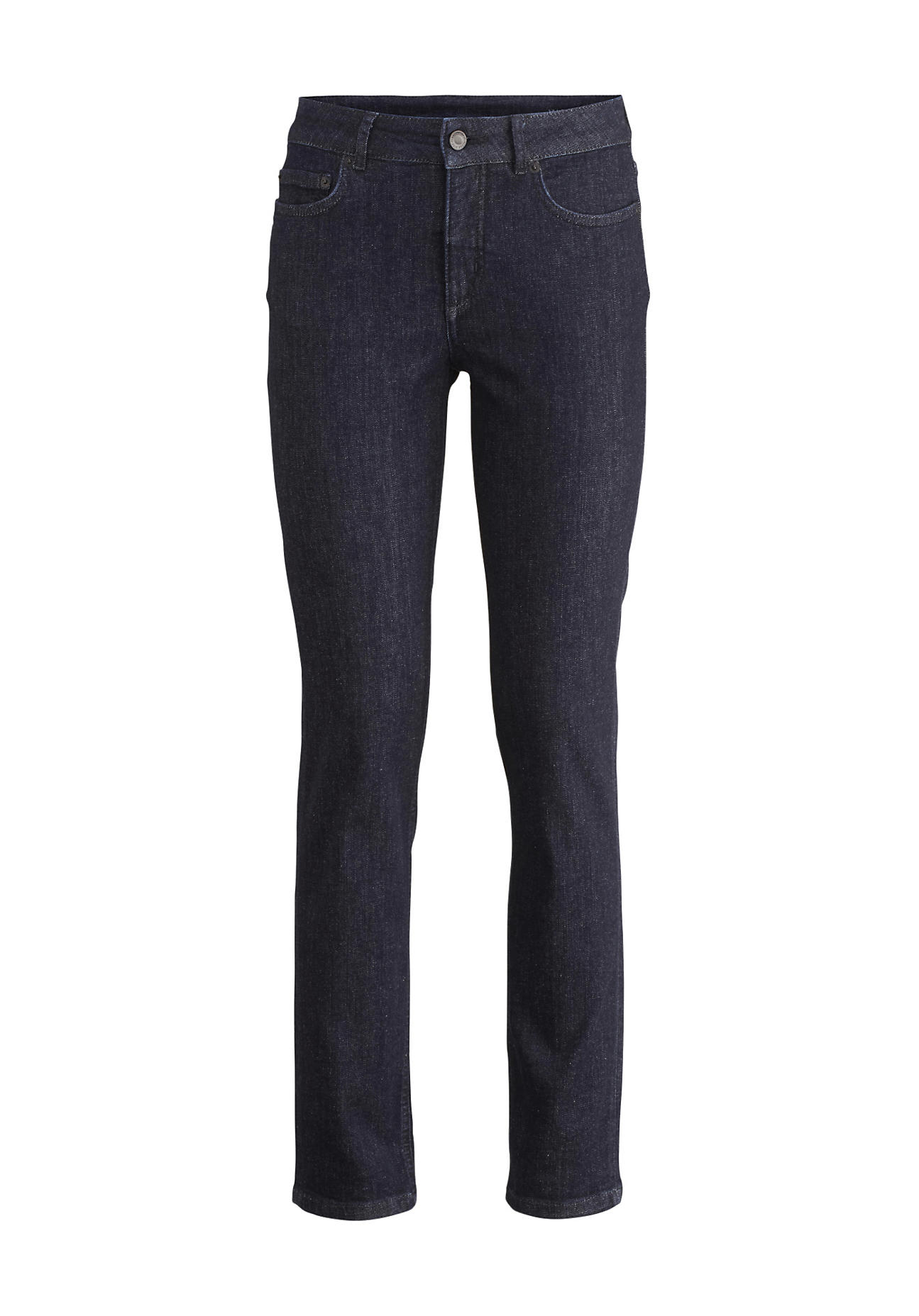 hessnatur Damen Jeans Lea Slim Fit aus Bio-Denim – blau – Größe 26/30