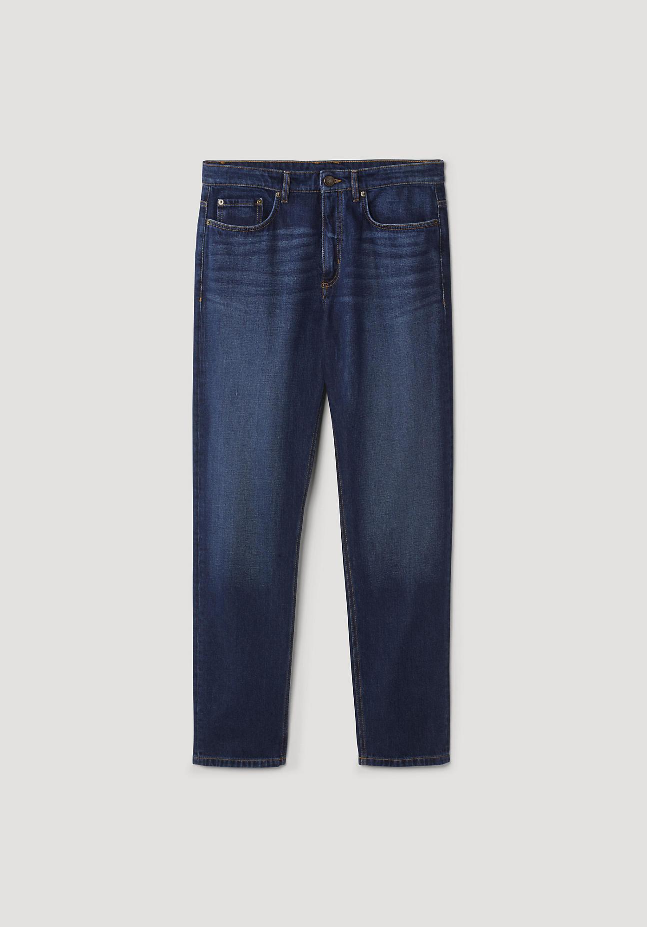 hessnatur Herren Jeans Max Tapered Fit aus Bio-Denim – blau – Größe 31/30