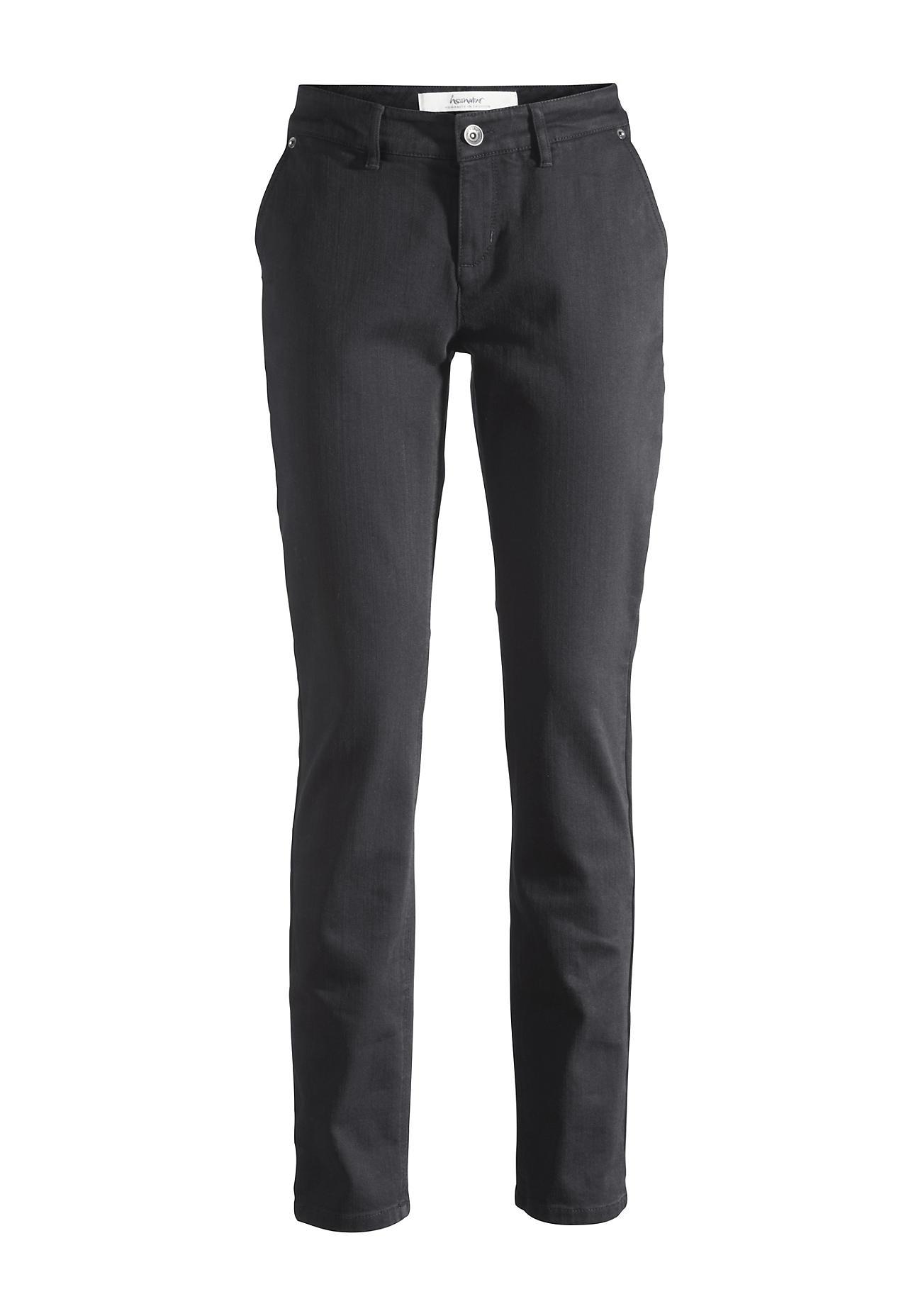 Hosen für Frauen - hessnatur Damen Jeans Relaxed Fit aus Bio Denim – schwarz –  - Onlineshop Hessnatur