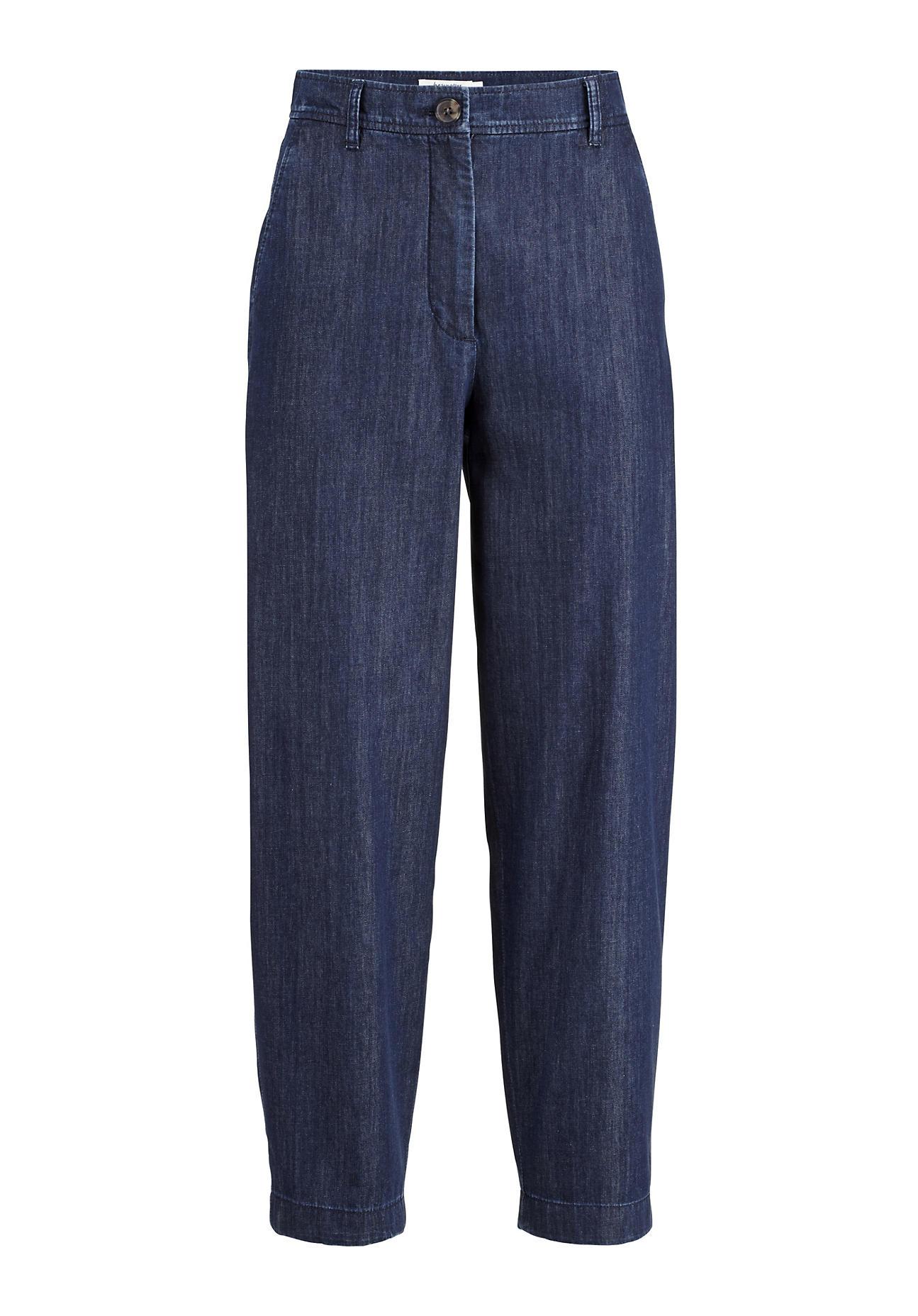 Hosen - hessnatur Damen Jeans aus Bio Denim – blau –  - Onlineshop Hessnatur