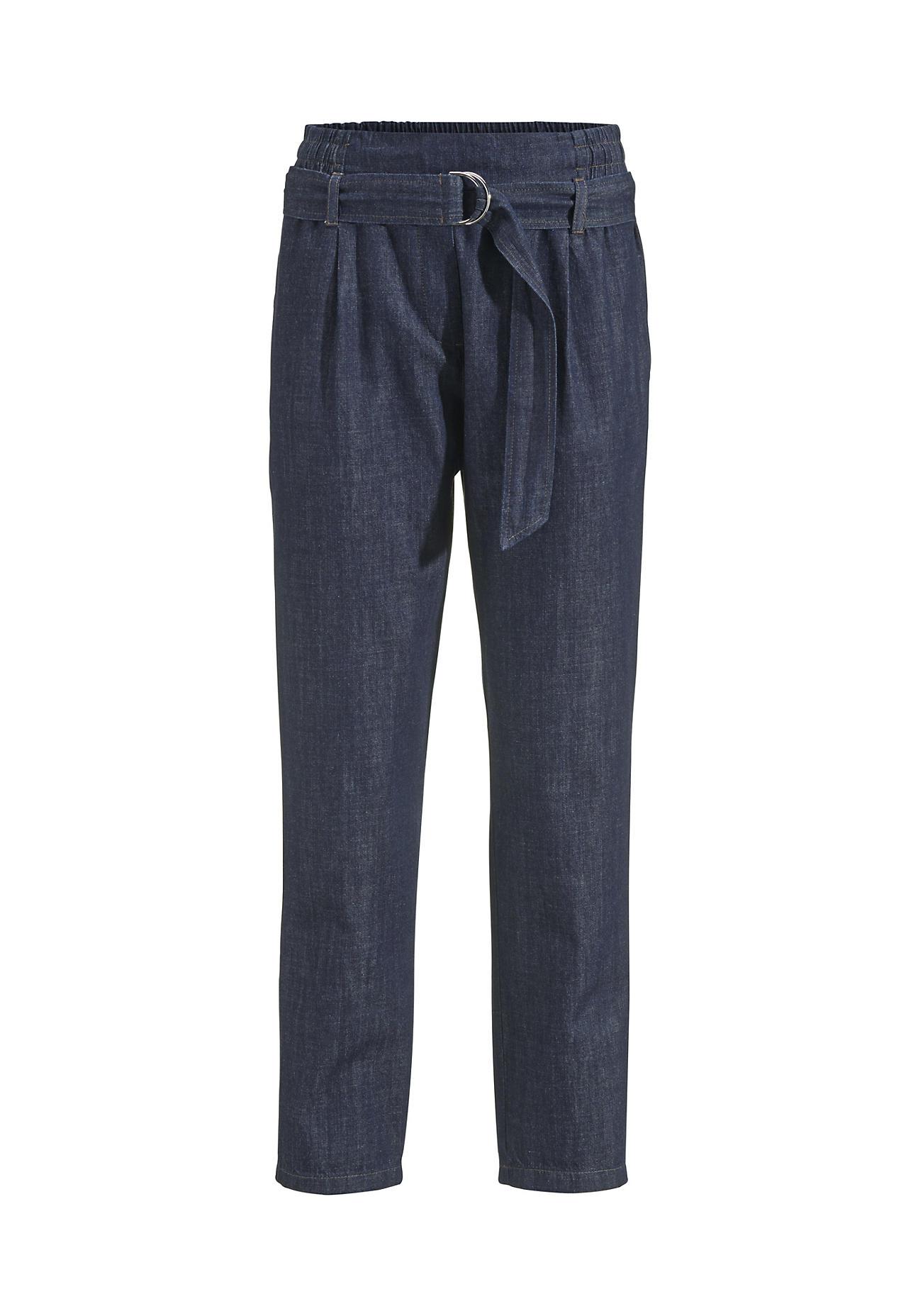 hessnatur Damen Jeans aus Bio Baumwolle – blau – Größe 38