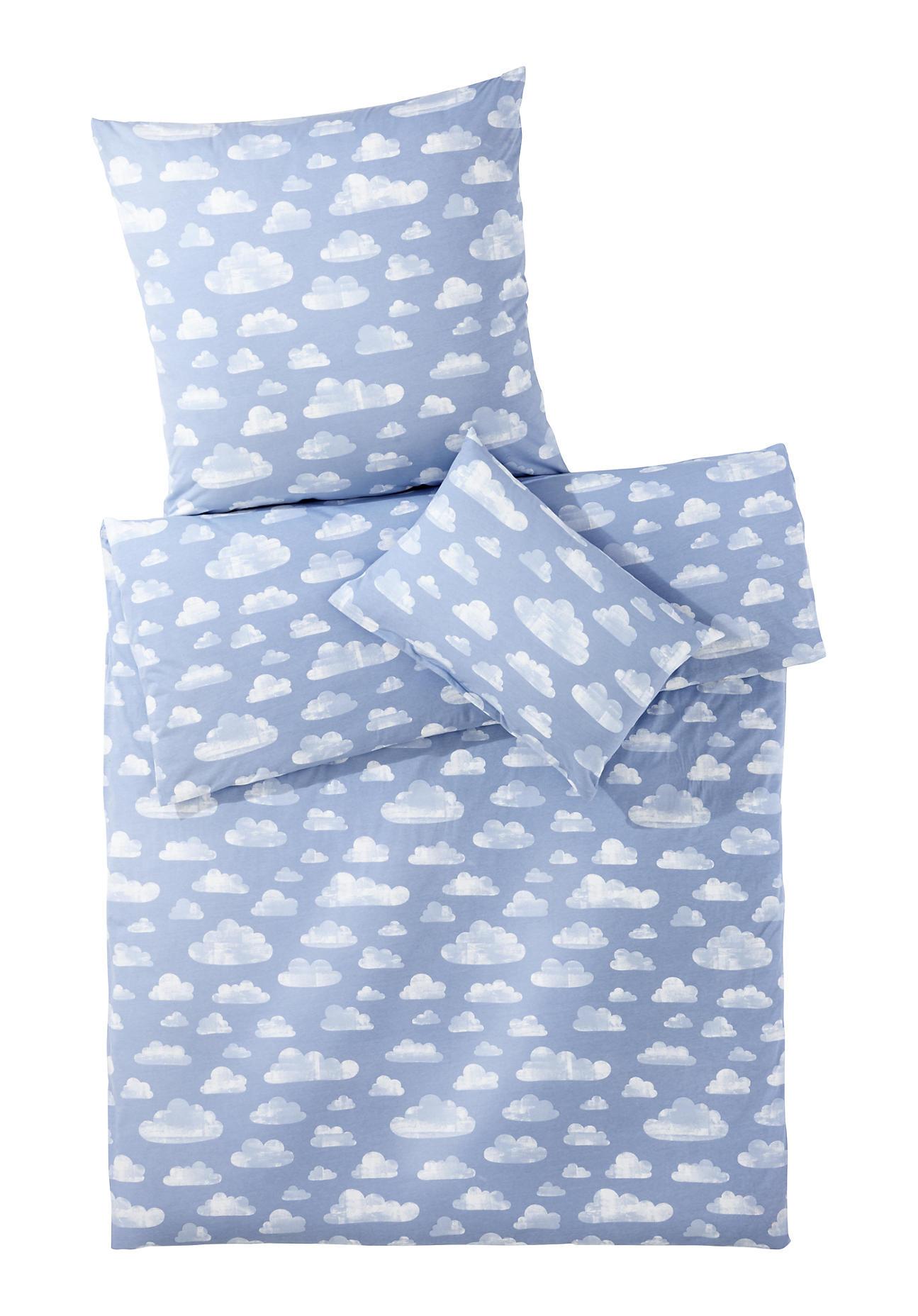 Image of hessnatur Baby Jersey Bettwäsche aus Bio-Baumwolle – bunt – Größe 100x135 / 40x60 cm