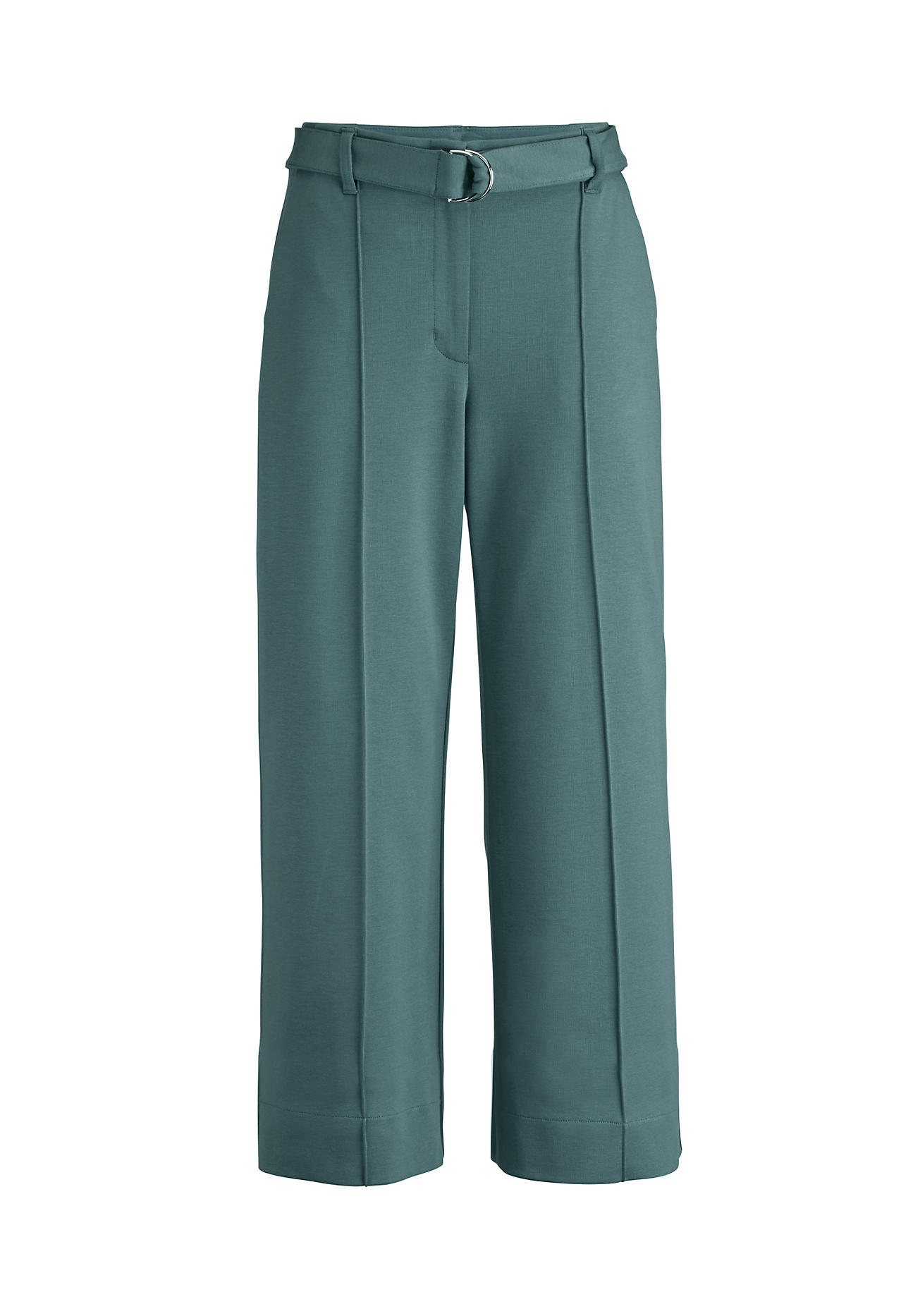 Hosen - hessnatur Damen Jersey Culotte aus Bio Baumwolle mit TENCEL™Modal – grün –  - Onlineshop Hessnatur