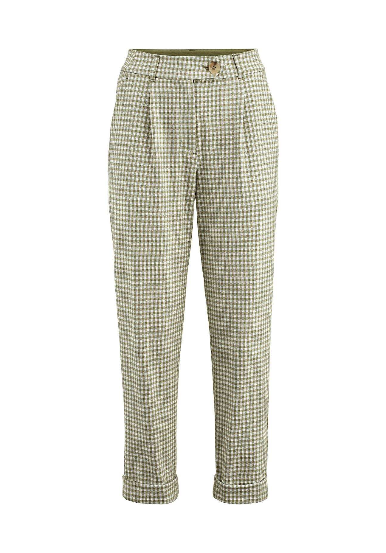 Hosen - hessnatur Damen Jersey Hose aus Bio Baumwolle – grün –  - Onlineshop Hessnatur