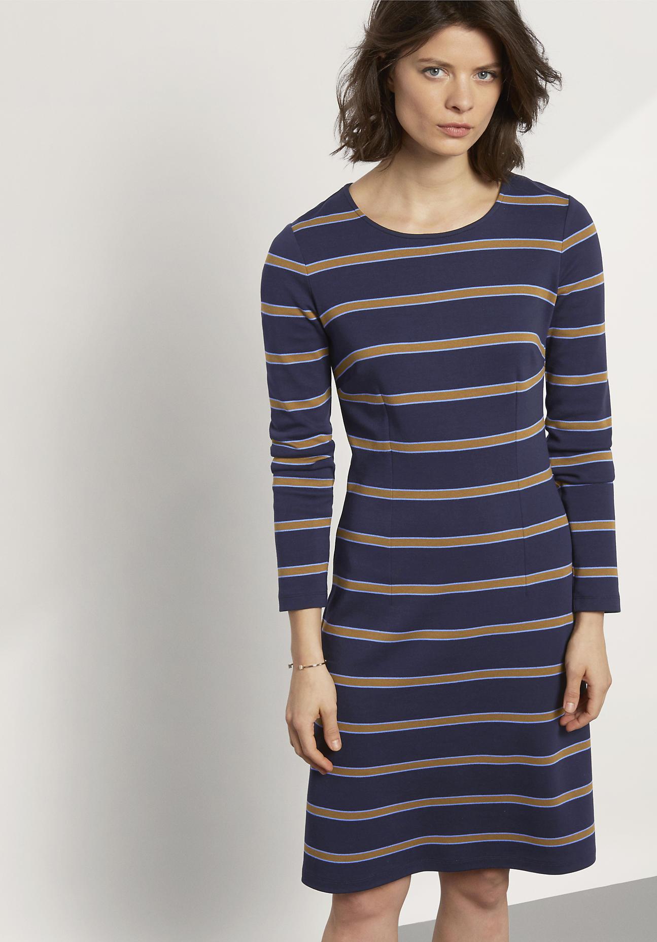 hessnatur Damen Kleid aus Bio-Baumwolle und Mod...
