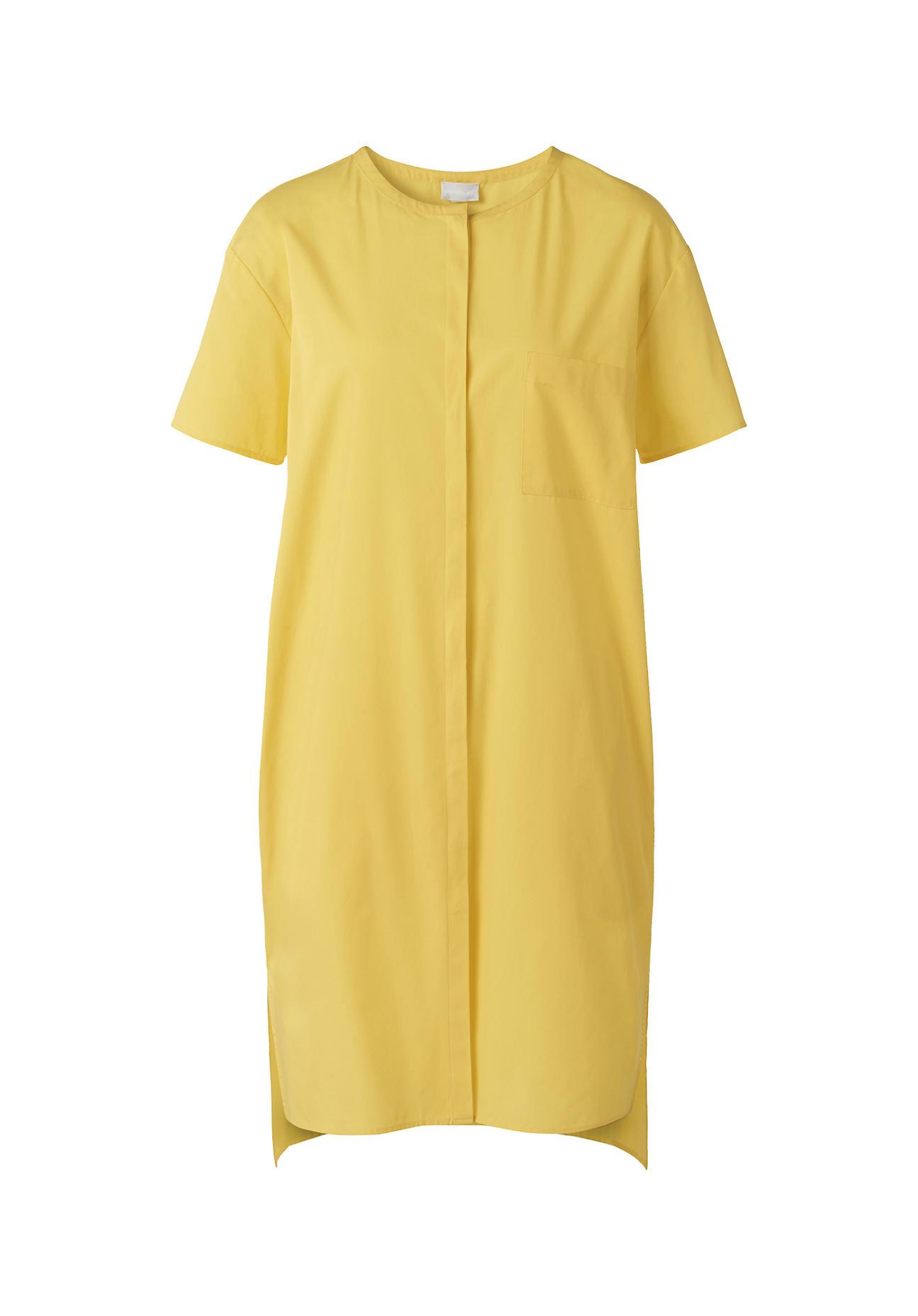 Kleider für Frauen - hessnatur Damen Kleid aus Bio Baumwolle – gelb –  - Onlineshop Hessnatur
