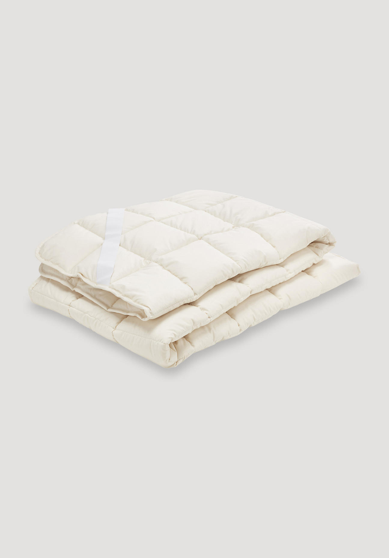 hessnatur Komfort-Unterbett mit Bio-Baumwolle – naturfarben – Größe 180x200 günstig online kaufen