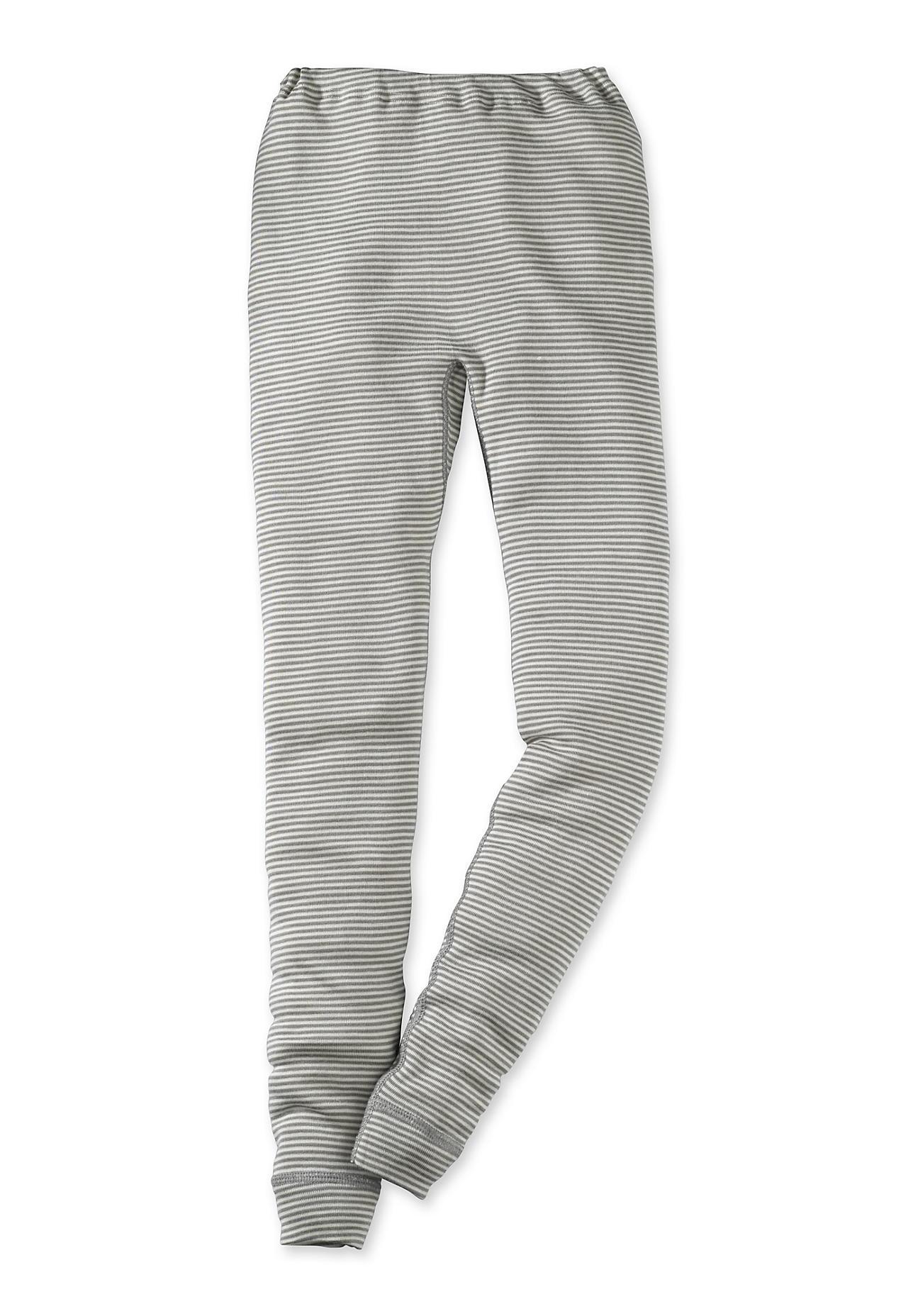 hessnatur Lange Unterhose aus Schurwolle mit Seide