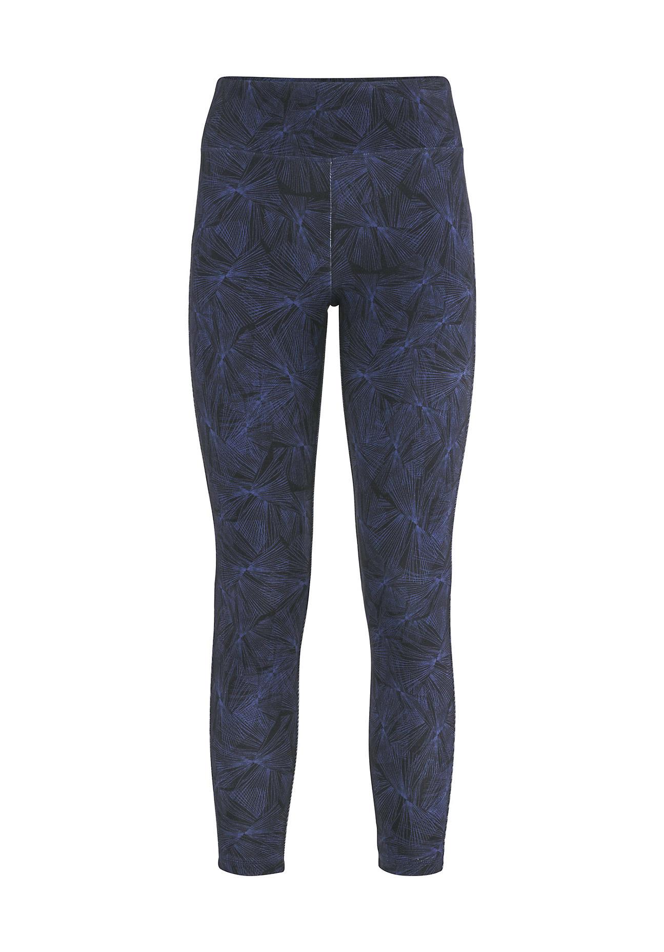 hessnatur Loungewear Leggings aus TENCEL™Modal – blau – Größe 36