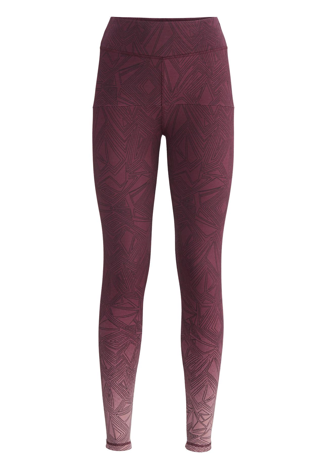 hessnatur Loungewear Leggings aus TENCEL™Modal – lila – Größe 38