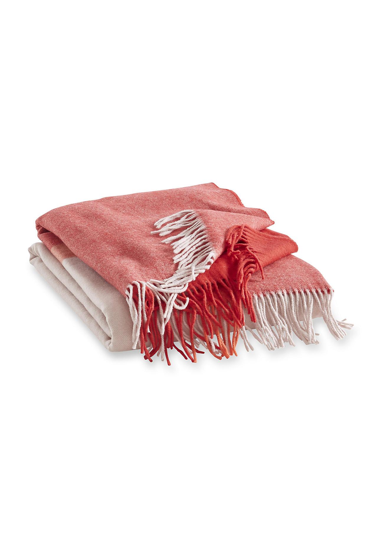 hessnatur Merino-Decke Dalai – rosa – Größe 130...