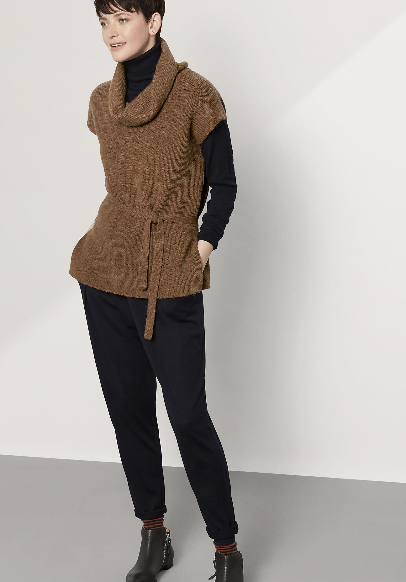 hessnatur Damen Pullover aus Alpaka – braun – G...