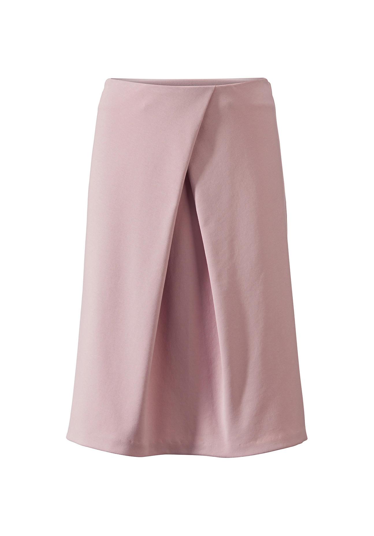 Roecke für Frauen - hessnatur Damen Rock aus Bio Baumwolle – rosa –  - Onlineshop Hessnatur