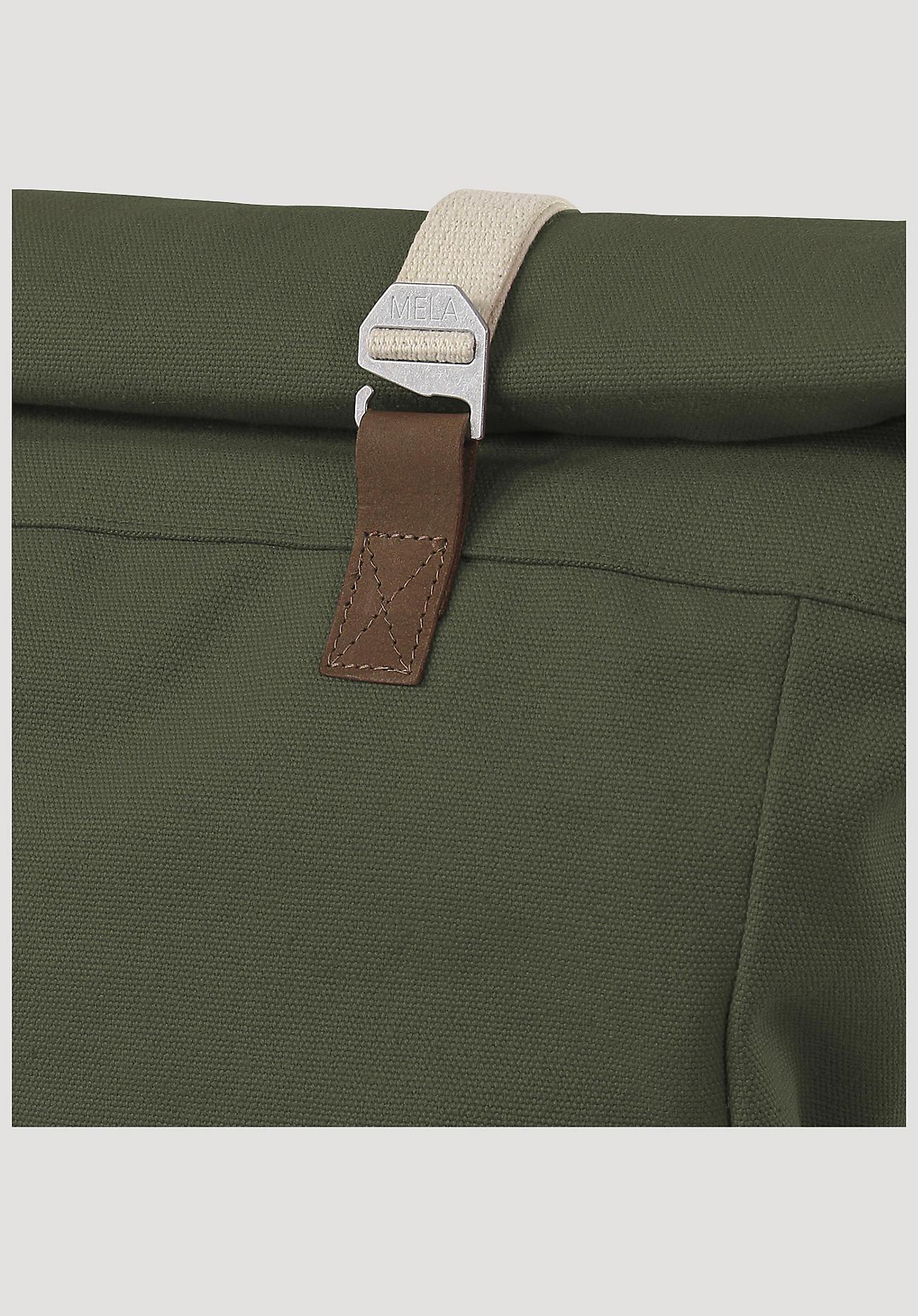 hessnatur Damen Rucksack Ansvar aus Bio-Baumwolle - grün Größe One Size