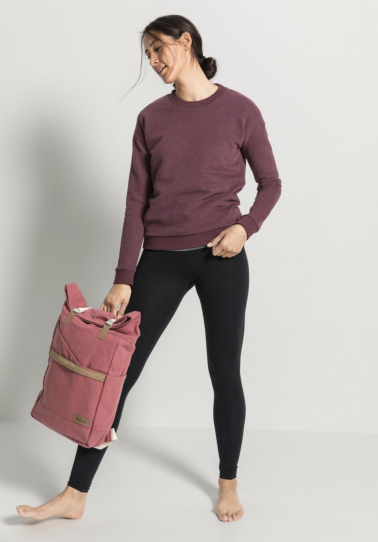 hessnatur Damen Rucksack Ansvar aus Bio-Baumwolle - rosa Größe One Size
