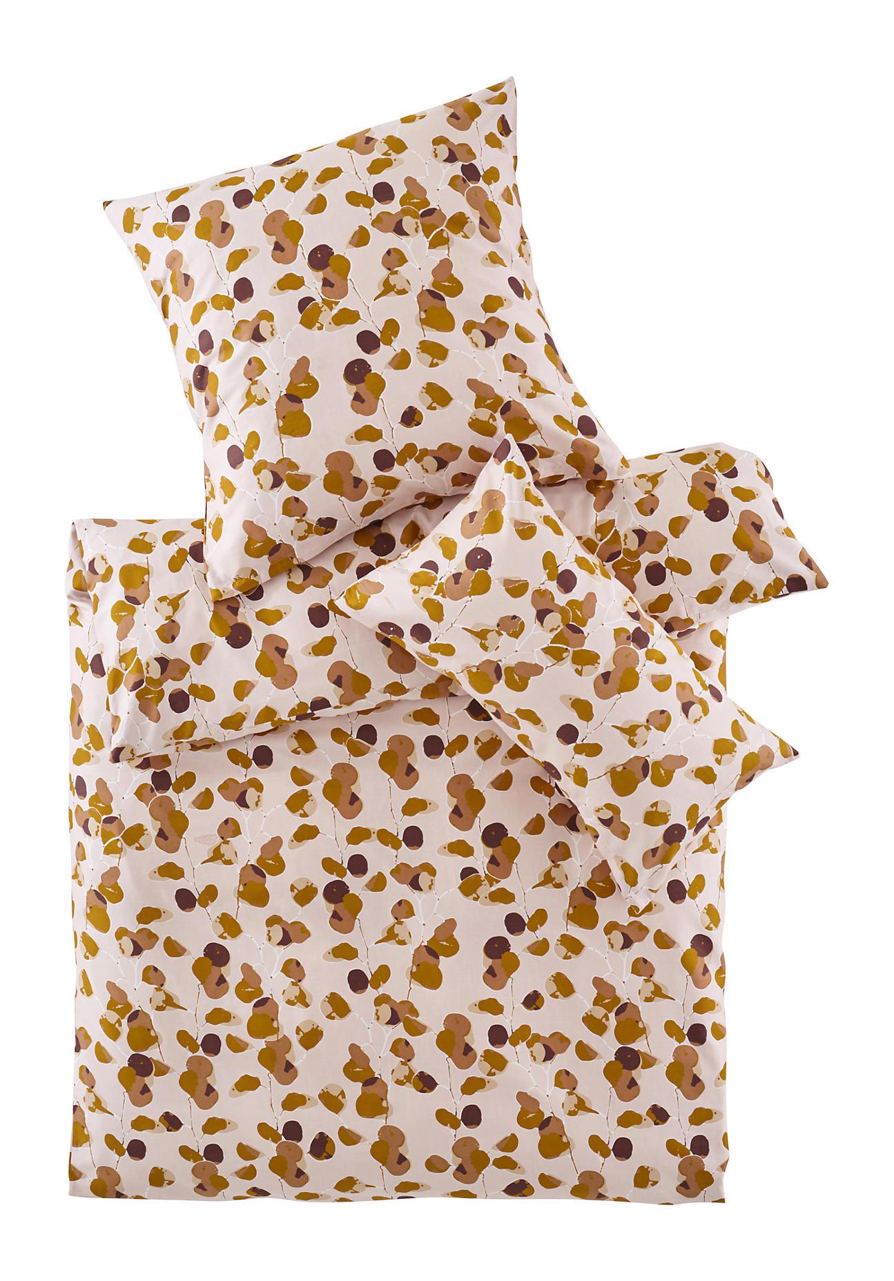 hessnatur Satin-Bettwäsche Rami aus Bio-Baumwolle – rosa – Größe 135x200+40x80 cm