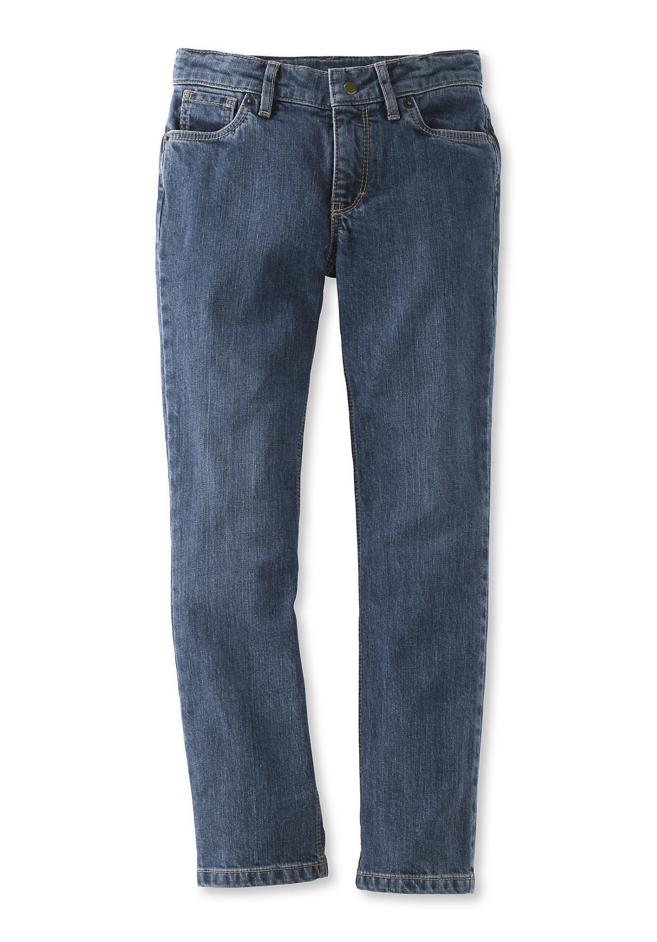 hessnatur Baby Schmale Jeans aus Bio-Baumwolle – blau – Größe 98