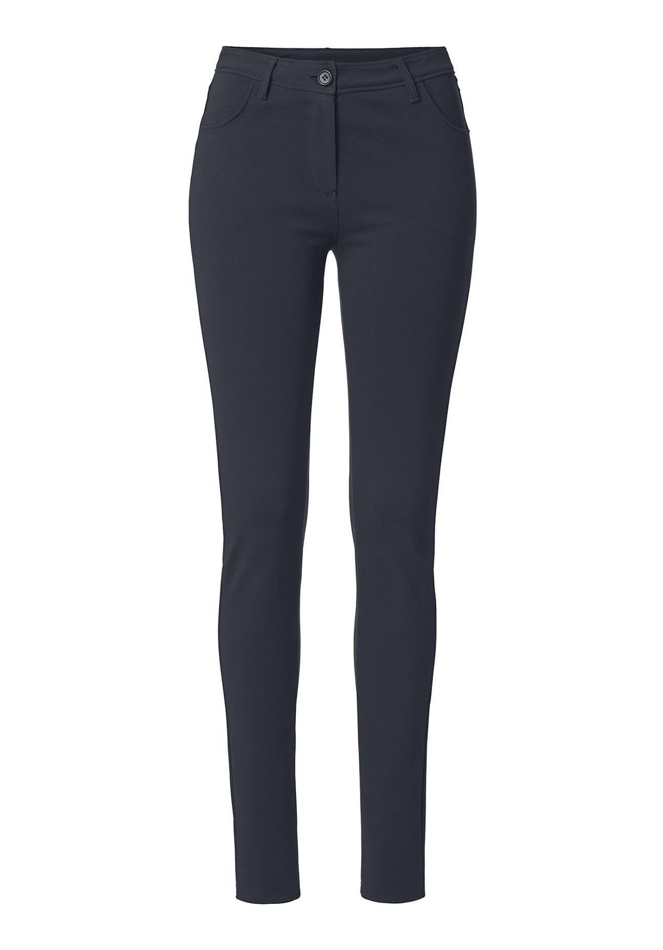 hessnatur damen stretch hose aus bio baumwolle schwarz gr e 38 damen jeans hosen. Black Bedroom Furniture Sets. Home Design Ideas