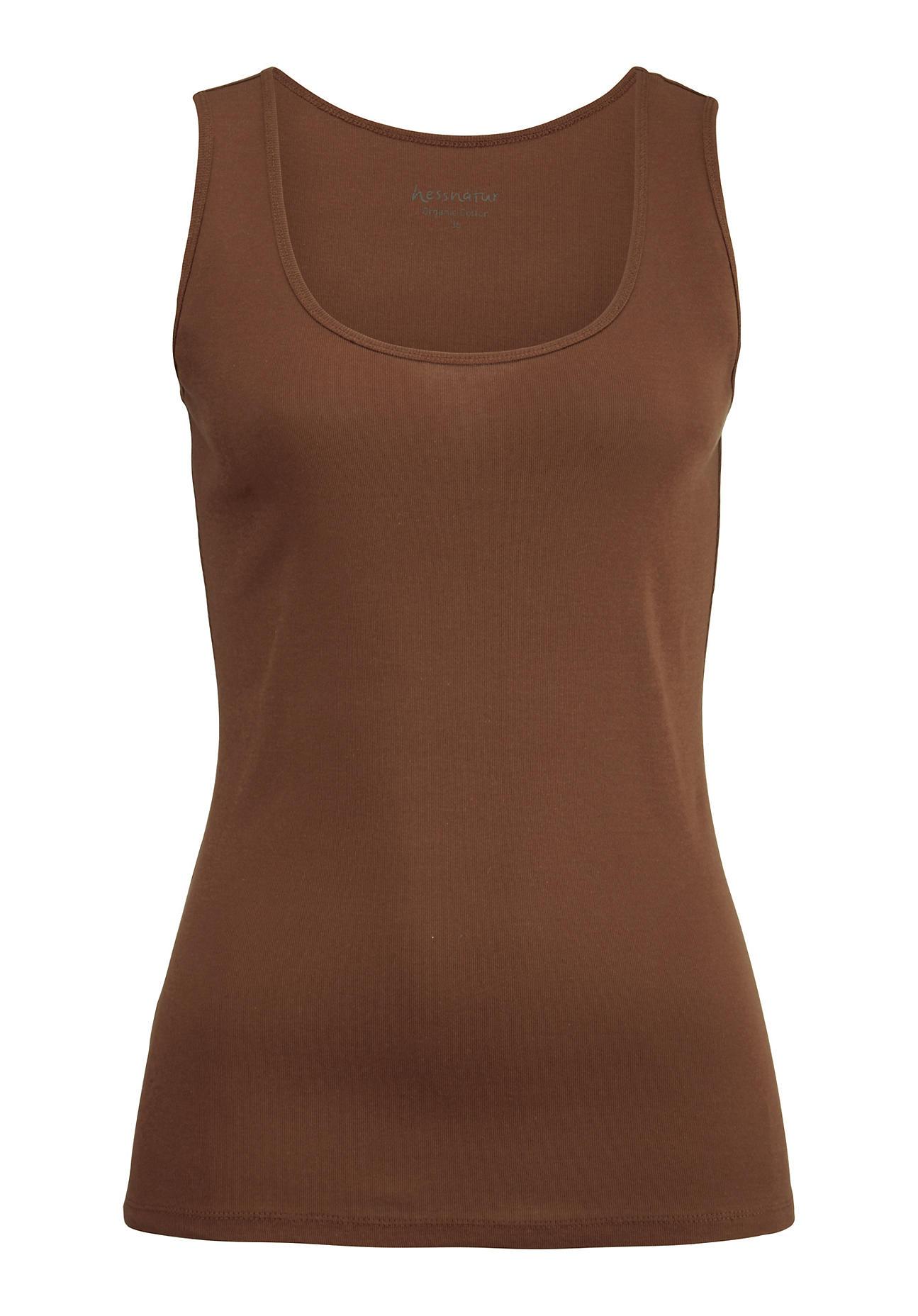 hessnatur -  Damen Top aus Bio-Baumwolle – rosa – Größe 42