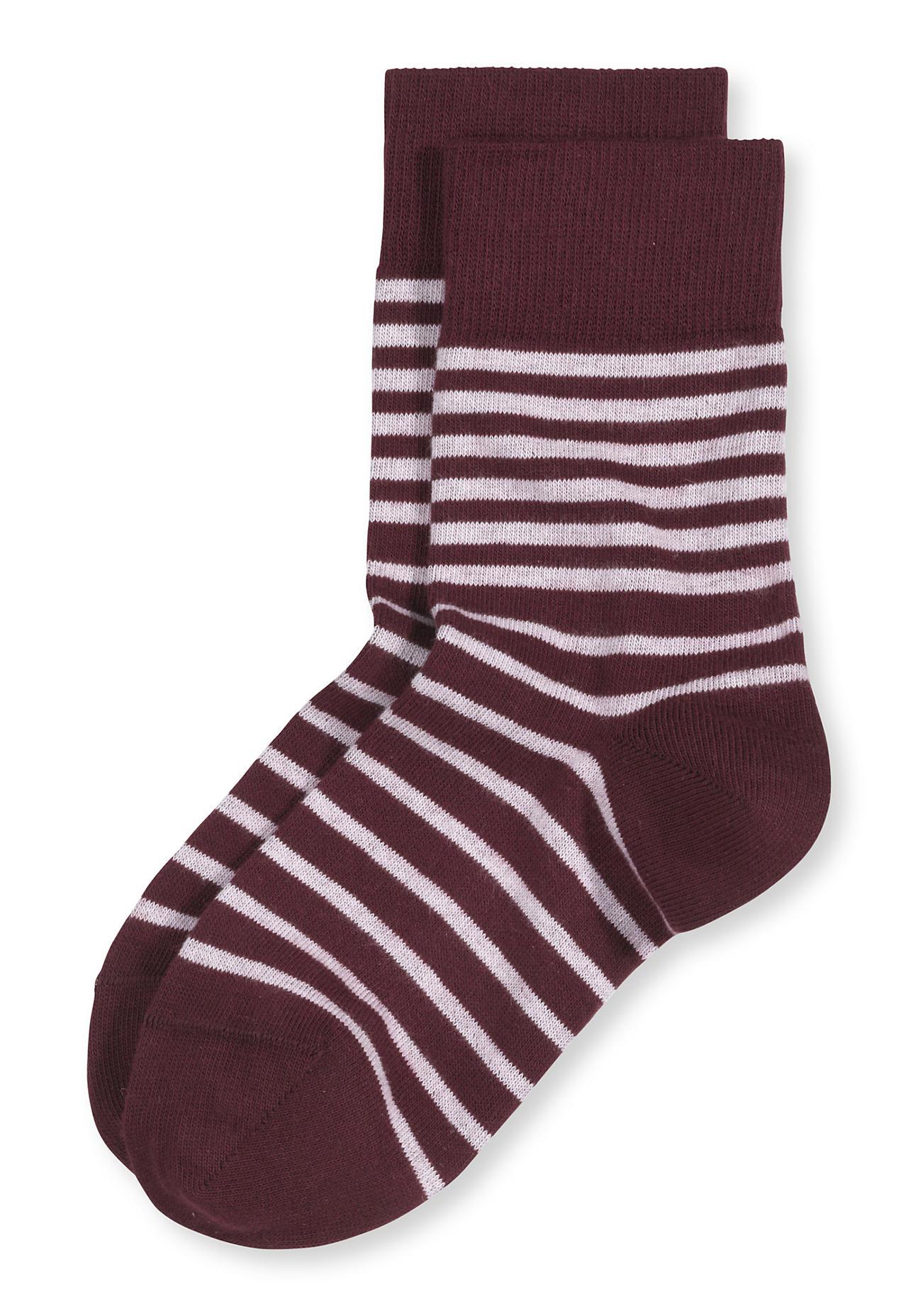 Socken - hessnatur Unisex Socke aus Bio Baumwolle – rot –  - Onlineshop Hessnatur