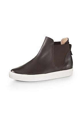 hessnatur Damen Chelsea-Boots, Größe 41, braun von Hess Natur in black - Schwarz für 0,00€