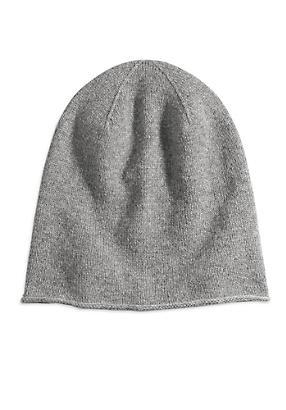hessnatur Damen Mütze aus Schurwolle mit Kaschmir, Größe 1size, grau von Hess Natur in black - Schwarz für 0,00€