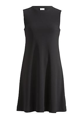 hessnatur Jersey-Kleid aus Bio-Baumwolle, Größe 42, schwarz von Hess Natur in black - Schwarz für 0,00€