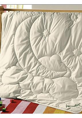 hessnatur Kinderdecke mit reiner Schurwolle Größe 100x135 cm 750 g natur